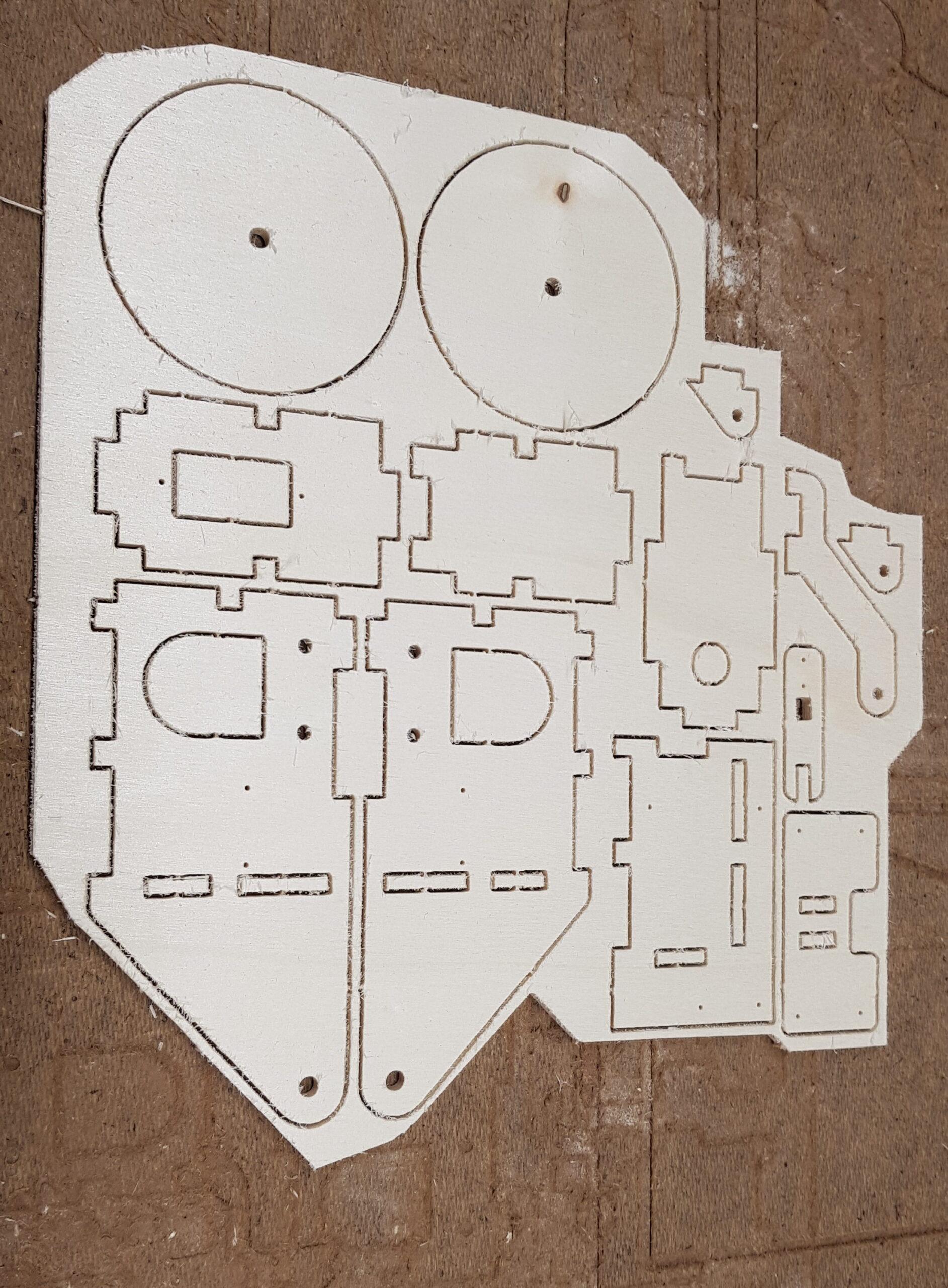 CNC Teile gefräst